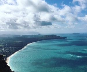 hawaii, paradise, and Island image