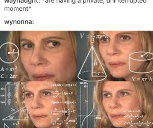 meme, wynonna earp, and wayhaught image