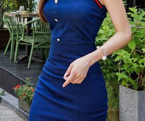 dress, kfashion, and mini image