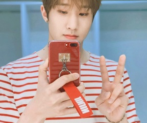 kpop, angelic smile, and park jin woo image