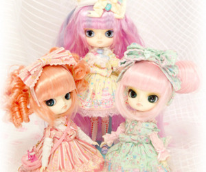 color, cute, and dolls image