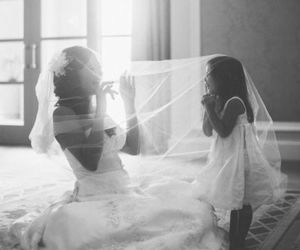 mother, wedding, and love image