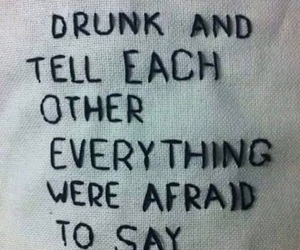 drunk, quotes, and sober image