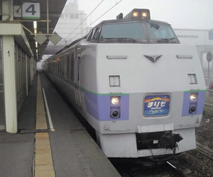 train, japan, and aesthetic image