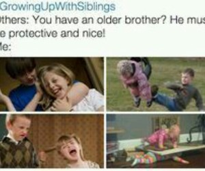 big brother, caring, and clever image