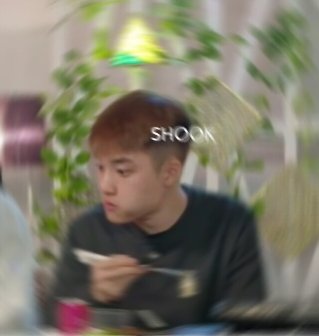 exo, kpop, and kpop reaction image
