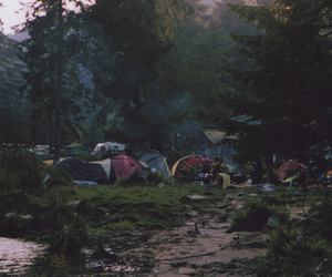 camping, peoples, and photography image