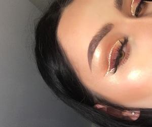 makeup, eyeshadow, and hair image