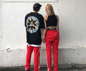 aesthetic, couple, and fashion image