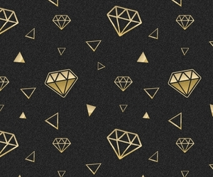 background, gold, and pattern image