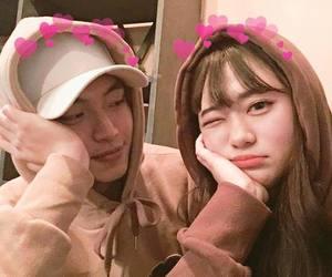 couple, couple korean, and tumblr image