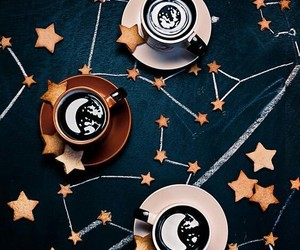 coffee, stars, and food image