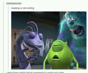 funny, monsters inc, and lol image