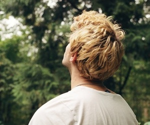 boy, blonde, and hair image