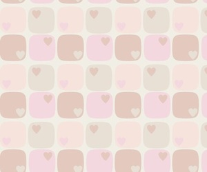background, pattern, and hearts image