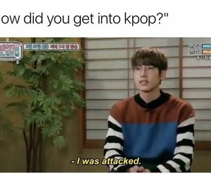 kpop, funny, and meme image