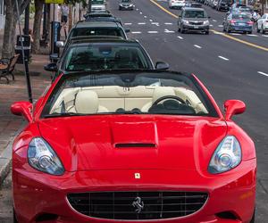 car, ferrari, and luxury image