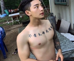 asian, boy, and Hot image