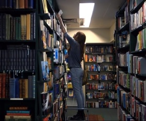 adventure, books, and library image