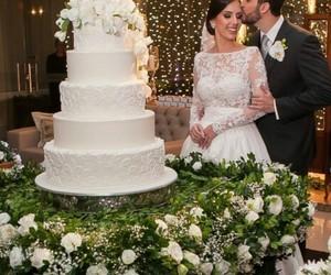 bride, cake, and costume image
