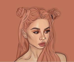 art, dibujo, and drawing image