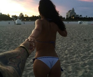 couple, Relationship, and ocean image
