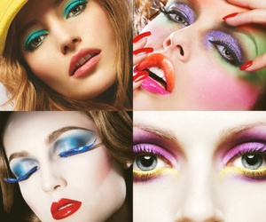 colorful, makeup, and my edit image