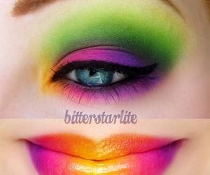 colors, eyeshadow, and make up image