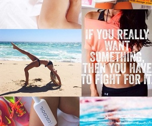 fitness, summer, and inspiration image