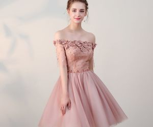 ball gown, girls, and graduation dresses image