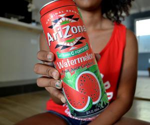 arizona, watermelon, and drink image