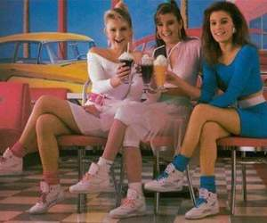 80s, girl, and 90s image