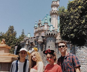 sabrina carpenter, friends, and corey fogelmanis image