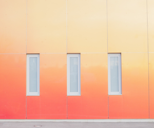 minimalism, peach, and peachy image