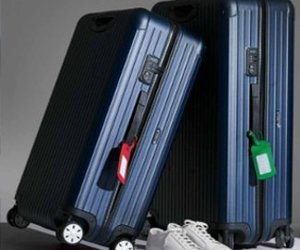 bags, fashion, and luggage image