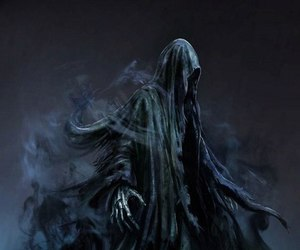 dementor, death, and harry potter image