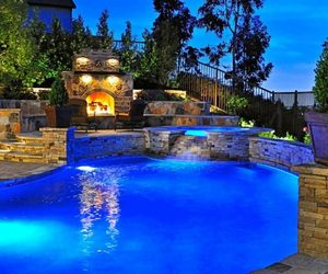 backyard and pool image
