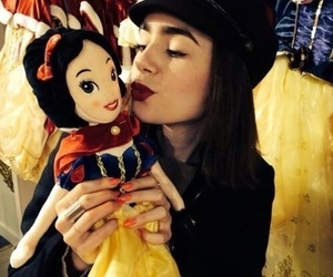 lily collins, lily, and snow white image
