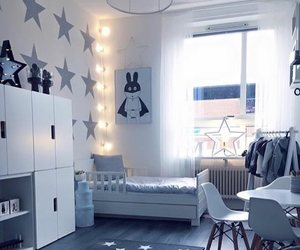 baby room, decor, and family image
