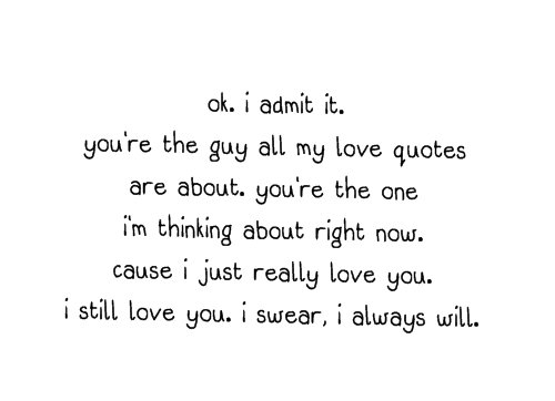 girl, guy, love, quote, quotes - inspiring picture on Favim.com