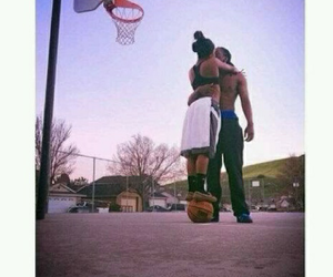Basketball, love, and couple image