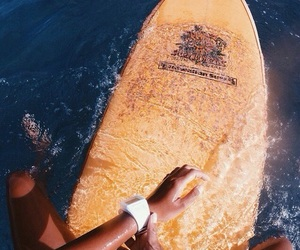 summer, surf, and ocean image