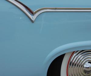 blue, light blue, and vintage image
