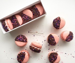 macaroons, sugar, and sweet image
