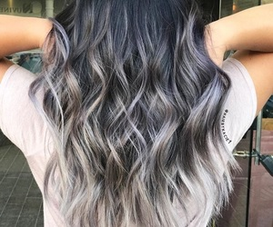 beauty, coloured hair, and dyed hair image