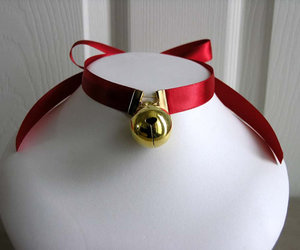 bell, choker, and collar image