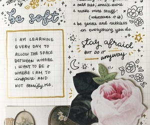 journal, art, and college image