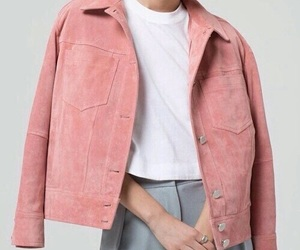 blue jeans, white, and pink image