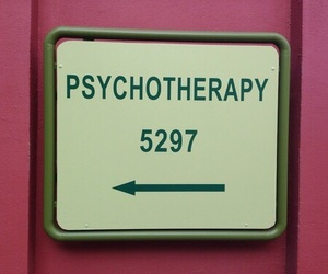 Psycho, psychotherapy, and pink image