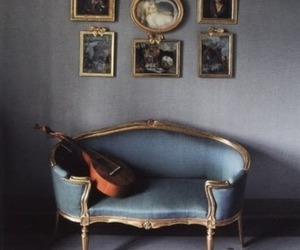 antique, baroque, and Blue Velvet image